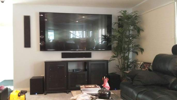 Residential TV Mount